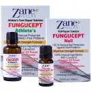 FunguCept Combo.Nail & Athlete Repair Solution. Ideal for Nail & Athletes Problems.0.33 fl.oz,1oz