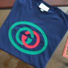 "New Gucci GG T-Shirt with Logo-Print; SS-2019; Size ""M"""