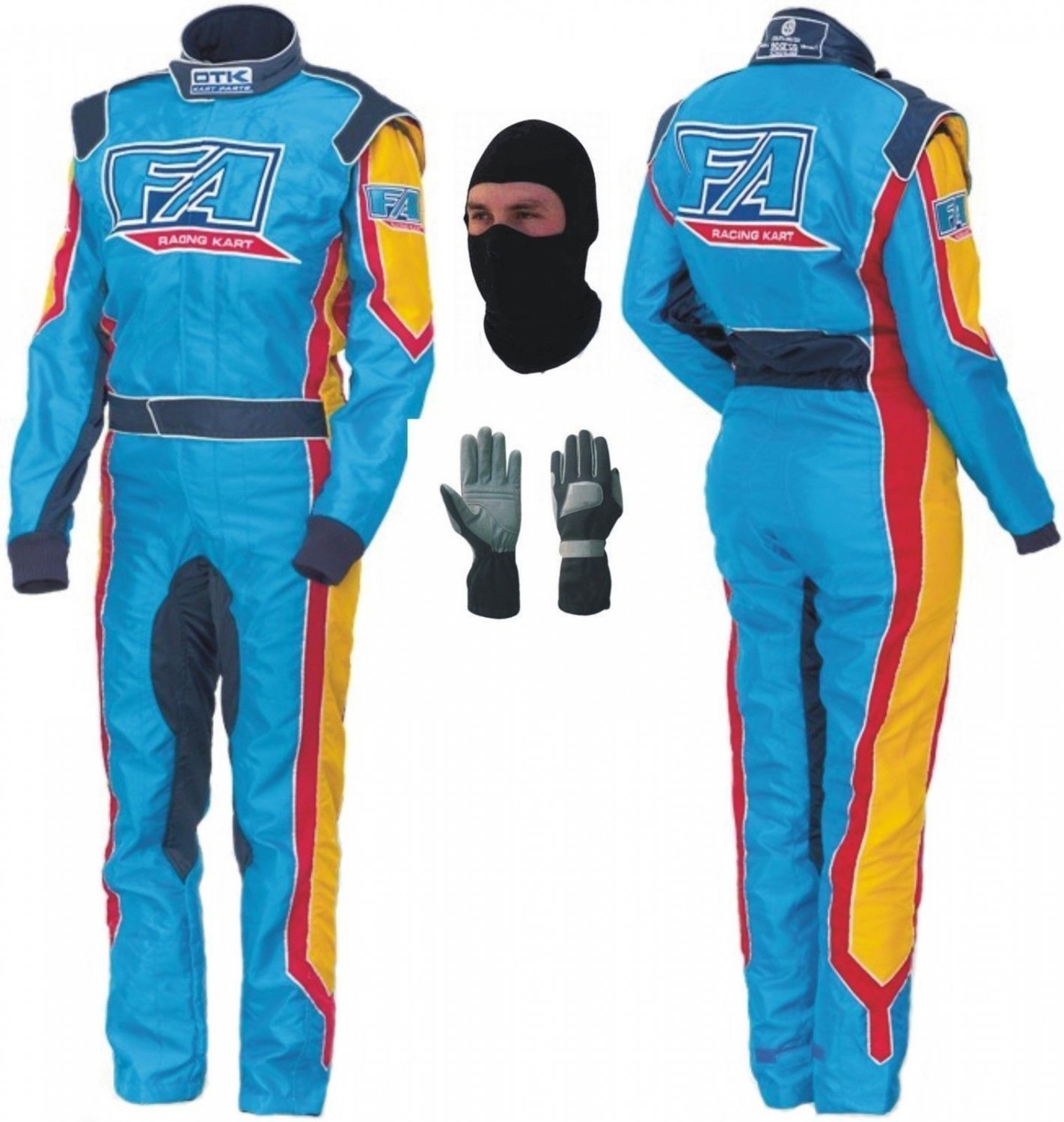 FA Kart Race Suit CIK/FIA Level 2 2013 Style With Free Gifts