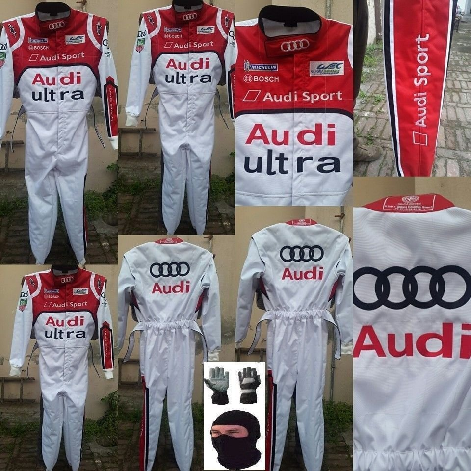 AUDI Go Kart Race Suit CIK/FIA Level 2 Approved With Free Gifts