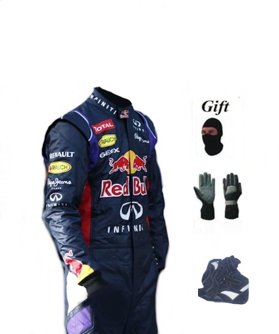 Red Bull Go Kart Racing Suit 2014 Style CIK/FIA Level 2 Approved With Free Gift