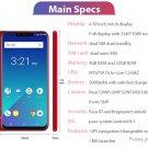 "Authentic Meiigoo S9 6.18"" Octa-Core Oreo LTE Smartphone (32GB/EU)"