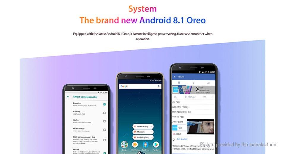 """Authentic Vernee M3 5.5"""" IPS Quad-Core Oreo LTE Smartphone (32GB/EU)"""