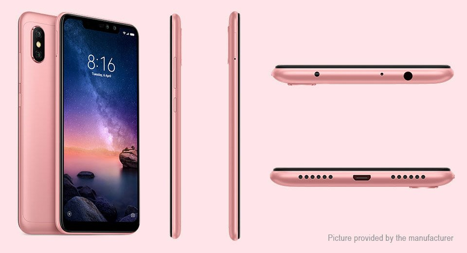 "Authentic Xiaomi Redmi Note 6 Pro Global Version 6.26"" IPS LTE Smartphone (32GB/EU)"
