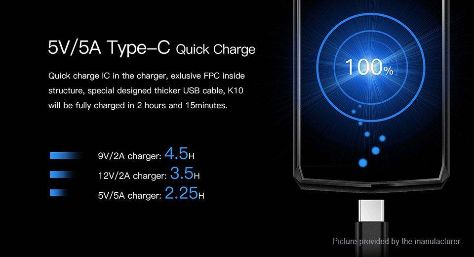 "Authentic OUKITEL K10 6"" Octa-Core Nougat LTE Smartphone (64GB/EU)"
