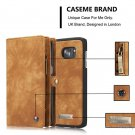 CaseMe PU Wallet Protective Case Cover for Samsung Galaxy S7 Edge