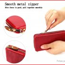 """PU Protective Wallet Case Cover for Cell Phone within 4.7"""""""