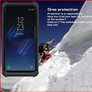 Waterproof Protective TPU + PC Case for Samsung Galaxy S8