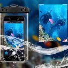 Authentic USAMS Fingerprint Recognition Waterproof Bag Case for Cell Phones