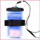 "Haissky Sports Waterproof Armband Case Bag for 6"" Cell Phone"