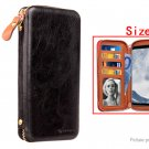 """PU Protective Wallet Case Cover for Cell Phone within 5.8"""""""