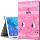 Color Printing Flip-open Protective Stand Case Cover for Huawei MediaPad M5 Pro