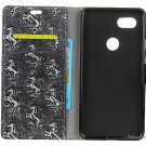 PU Leather Flip-open Protective Case Cover for Google Pixel 2 XL
