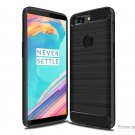 TPU Carbon Fiber Protective Back Case Cover for OnePlus 5T
