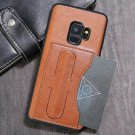 KANJIAN Protective Leather Back Case Cover for Samsung Galaxy S9