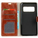 PU Leather Flip-open Protective Case Cover for Samsung Galaxy Note 8