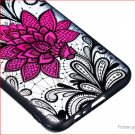 TPU + PC Embossed Protective Back Case Cover for Samsung Galaxy A6