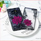 TPU + PC Embossed Protective Back Case Cover for Samsung Galaxy Note 9