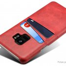 Suteni PU Leather Protective Back Case Cover for Samsung Galaxy S9