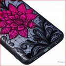 TPU + PC Embossed Protective Back Case Cover for Samsung Galaxy S9