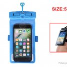 Tteoobl 21H Waterproof Protective Case Bag for Cell Phones within 5.2""