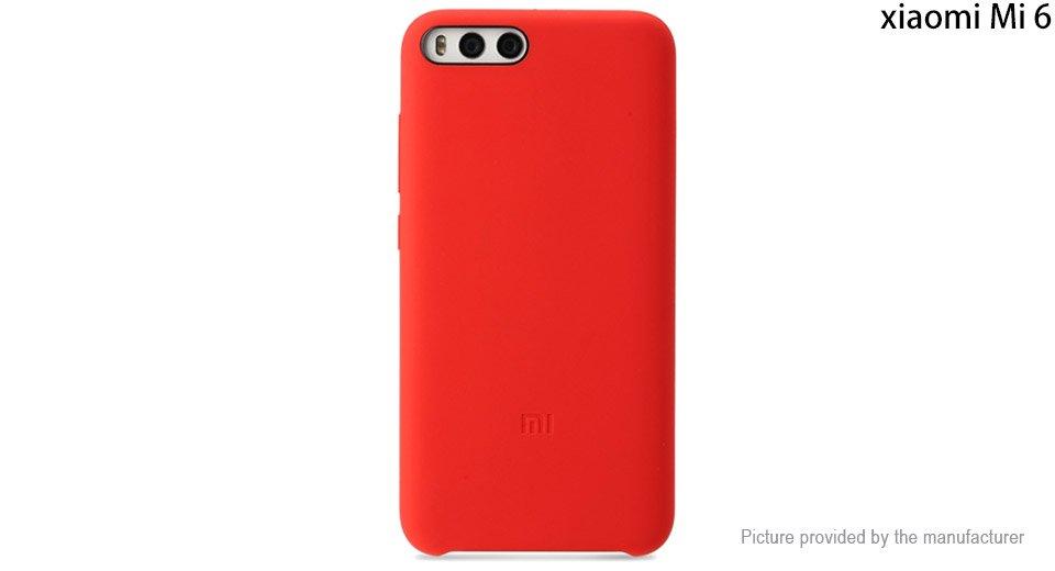 Authentic Xiaomi Silicone Protective Back Case for Xiaomi Mi 6