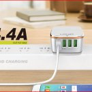 Authentic LDNIO A4404 4-Port USB AC Charger Power Adapter (US)