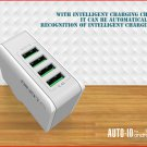 LDNIO A4403 4-Port USB Travel Wall Charger Power Adapter (US)