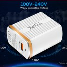 TOPK C1302Q USB Travel Wall Charger Power Adapter (UK)