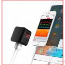 CASECUBE LQ-008 Portable Dual USB Wall Charger Power Adapter (US)