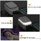 TOPK A4405 2-in-1 4-Port USB Charger Adapter LED Night Light (US)