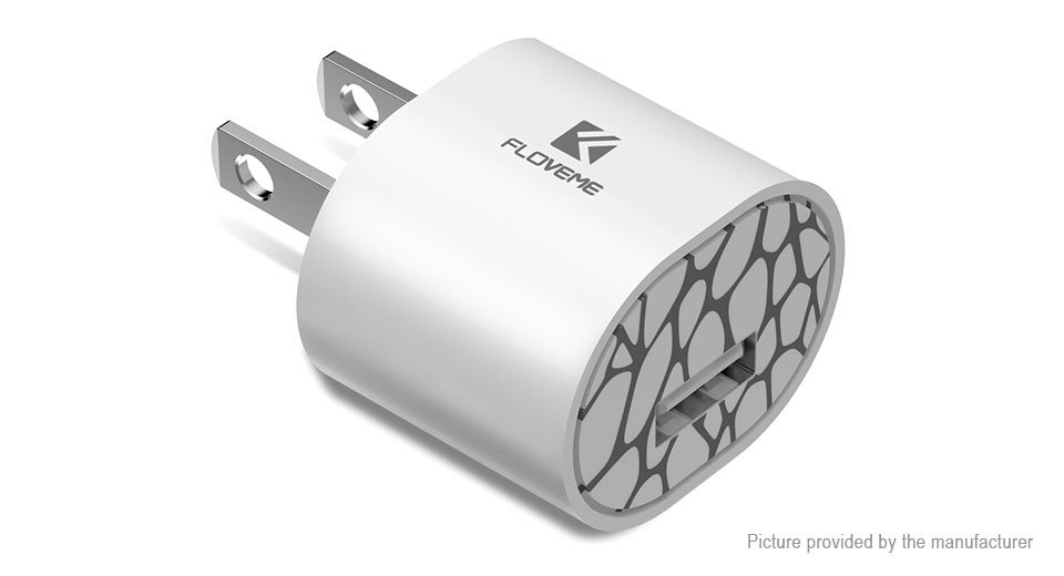 Authentic Floveme Portable USB Wall Charger Power Adapter (US)