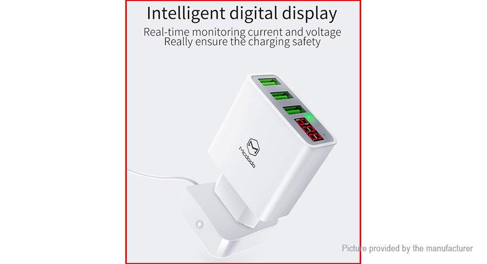 MCDODO CH-5030 3-Port USB Charger Travel Power Adapter (EU)