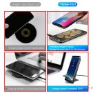 Authetnic Baseus BSWC-P03 3 Colis Qi Inductive Wireless Charger