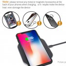 Ultra-slim Leather Qi Inductive Wireless Charger