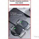 Authentic Baseus WXXHJ Double Base Qi Inductive Wireless Charger