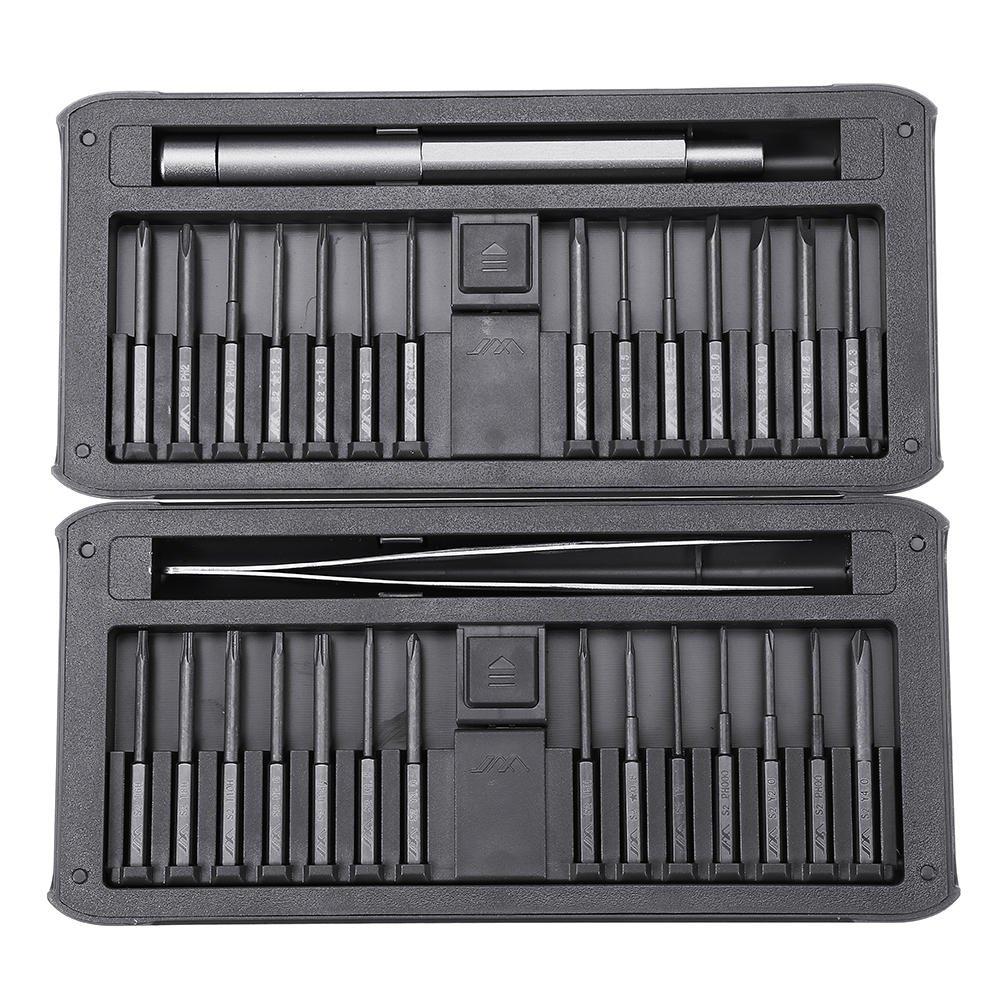 30 IN 1 Precision Screwdrivers Kit Repair Tool DIY Screw Driver Set w/ Tweezers, Multi Purpose