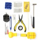 19 Pcs Watch Repair Tool Set Watch Band Remover Holder Case Opener