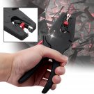 Adjustable Electric Cable Wire Crimper Stripper Stripping Plier 0.03 - 10 mm², Multifunctional