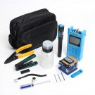 Fiber Optic FTTH Tool Kit with FC-6S Optical Power Meter Fault Locator Cutter Stripper Plier