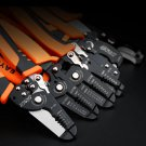 Multifunctional, Cable Wire Stripper Cutter Crimper Automatic TAB Terminal Crimping Plier Tool