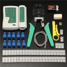 Raitool CP10 RJ45 Cat5e Cat6 Network Ethernet LAN Cable Tester Crimper Crimping Tool Set