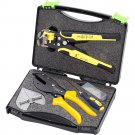 Universal Angle Cutter Mitre Shear Scissors Terminals Wire Stripper Tools Set
