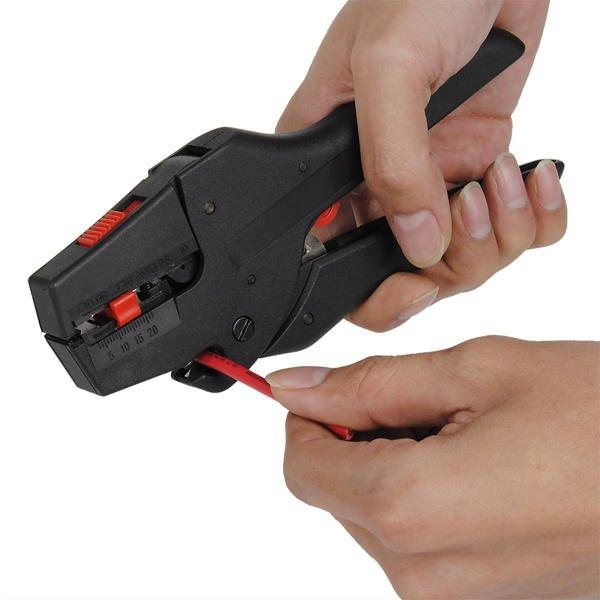 Self Adjusting Insulation Stripper Wire Fasten Tools