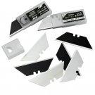 10 Pcs SK5 60# Steel Utility Cutter Blades for Wallpaper Cutter - A