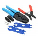 Solar PV Tools Kits For MC3/MC4 Solar Connectors With Crimping Stripping Cutting