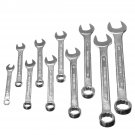 10 Pcs Steel Reversible Combination Ratcheting Wrench Set