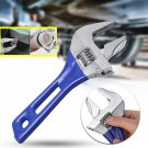 6, 8 inch Wrench Spanners Chromic Plating Adjustable Large Opening Handle Shank with Scale