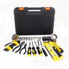 78 Pcs Household Tool Kit DIY Home Repair Hand Tools Wrench Ratchet Screwdriver Plier Box Case