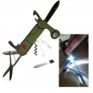 13 in 1 Multifunctional Folding Pocket Army Camping Outdoor Survival Tools Swiss Style Camping